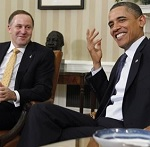 and this was when Barack asked me for advice......do you think I look like Tony Soprano?